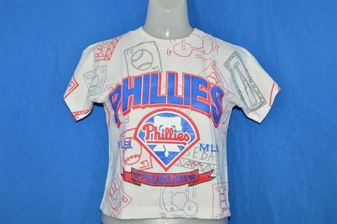 90s Philadelphia Phillies Baseball t-shirt Toddler 8