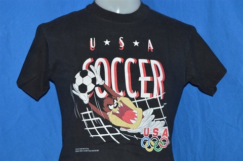 90s Taz Tasmanian Devil USA Soccer Olympics t-shirt Youth Medium
