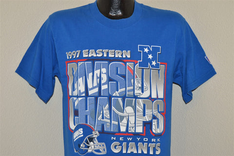 90s New York Giants 1997 NFC East Champs t-shirt Medium