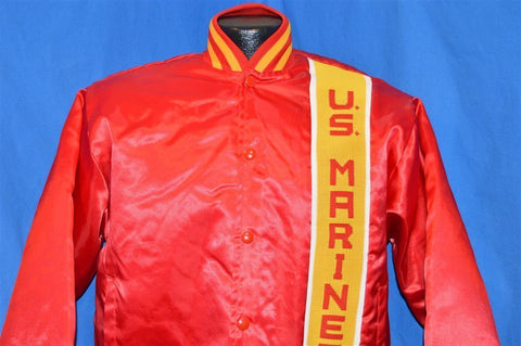 90s USMC United States Marine Corp Satin Jacket Small