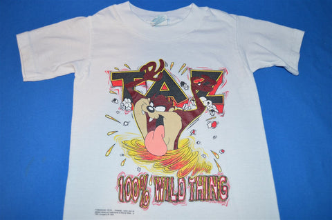 90s Taz 100% Wild Thing t-shirt Youth Small 4