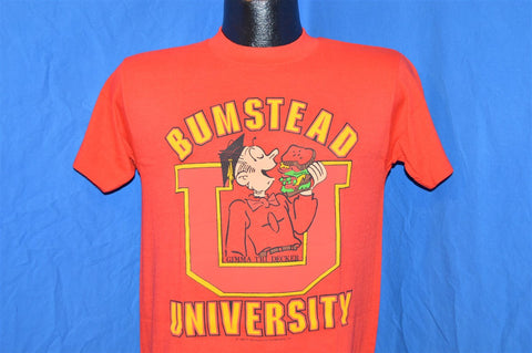 80s Dagwood Bumstead University t-shirt Small