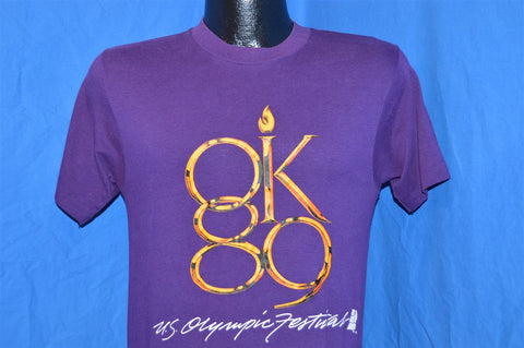 80s US Olympic Festival Oklahoma City OK 1989 t-shirt Small
