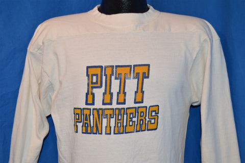 80s Pitt Panthers College Sports 3/4 Sleeve Jersey t-shirt Small