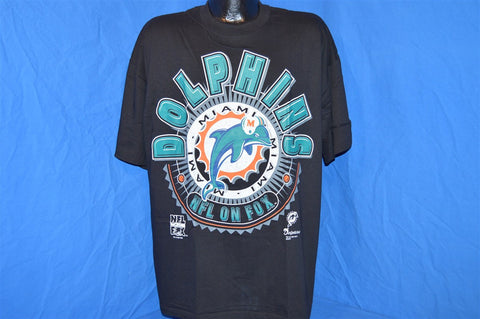 90s NWT Miami Dolphins NFL on FOX t-shirt Large
