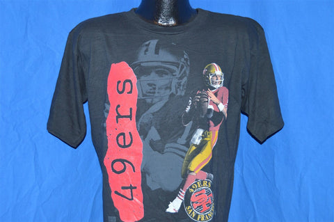 90s San Francisco 49ers Joe Montana t-shirt Large