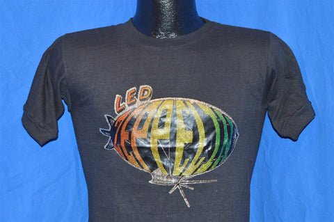 70s Led Zeppelin Blimp Glitter Iron On t-shirt Small