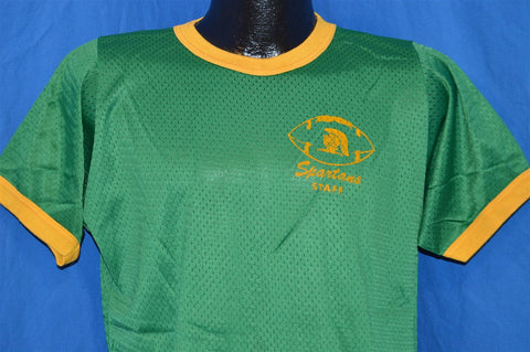 70s Michigan State Spartans Mesh Jersey t-shirt Large