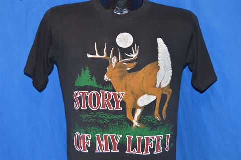 80s Story of My Life Funny Hunting t-shirt Medium