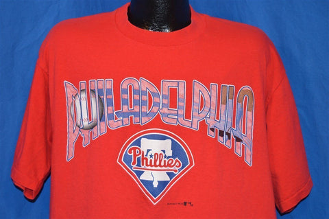 90s Philadelphia Phillies Logo t-shirt Large