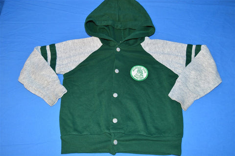 80s Michigan State Spartans Snap Up Sweatshirt Toddler 4T