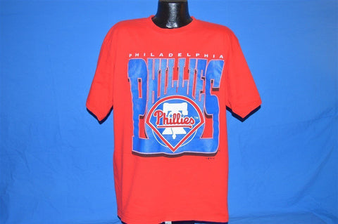 90s Philadelphia Phillies Red White and Blue t-shirt Extra-Large