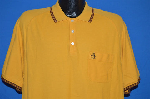 90s Penguin Munsingwear Polo Shirt Large