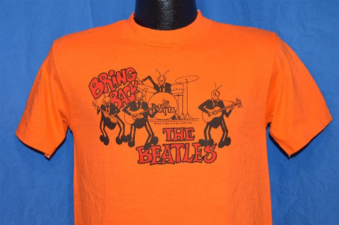 70s Bring Back the Beatles David Peel Orange Records Rock 1976 t-shirt Small