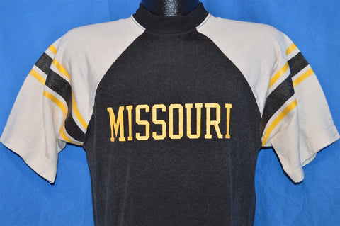 70s University of Missouri Champion Blue Bar Jersey t-shirt Medium