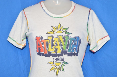 70s Atlanta Georgia Rainbow Sunset t-shirt Extra Small