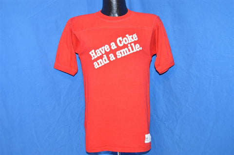 80s Have a Coke and Smile Jersey t-shirt Small
