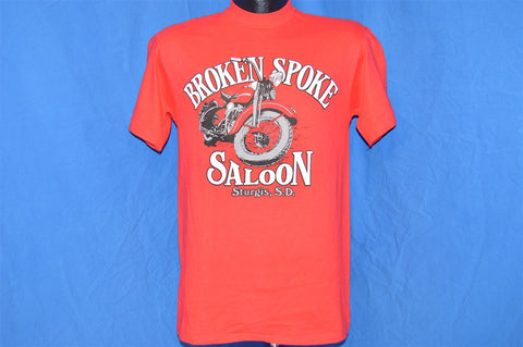 80s Broken Spoke Saloon Motorcycle t-shirt Small