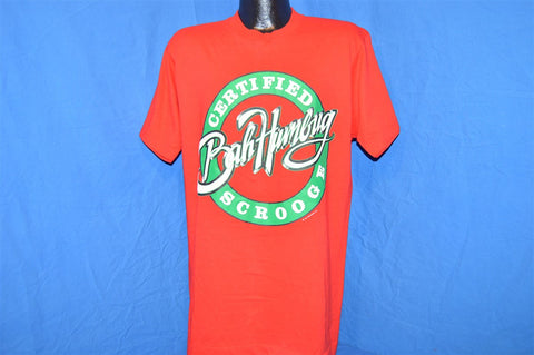 90s Bah Humbug Certified Scrooge t-shirt Large