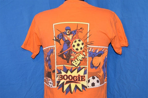 90s Morey Boogie Soccer Superhero t-shirt Youth Large