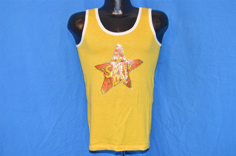 70s Super Dad Father's Day Glitter Iron On Tank Top t-shirt Small