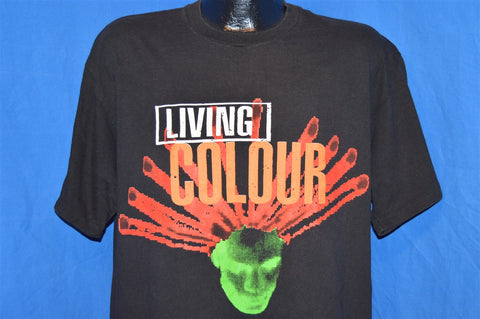 90s Living Color Stain Album t-shirt Extra Large