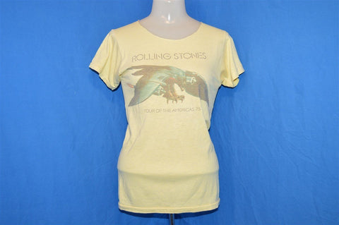 70s Rolling Stones Tour of the Americas 1975 t-shirt Extra Small