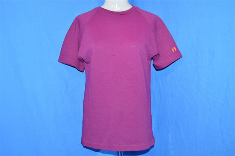 70s Hang Ten Purple Raglan t-shirt Women's Medium