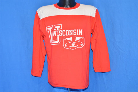 80s University of Wisconsin Champion Jersey t-shirt Large