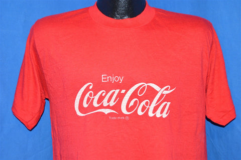 80s Enjoy Coca-Cola t-shirt Medium