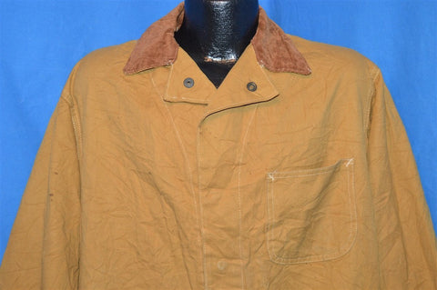 50s Hinson Brown Water Resistant Hunting Jacket Large