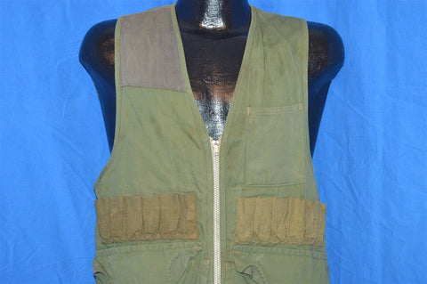 70s Black Sheep Olive Drab Hunting Vest Small