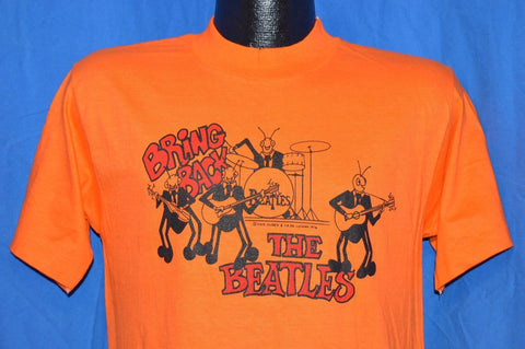 70s Bring Back the Beatles David Peel 1976 t-shirt Medium
