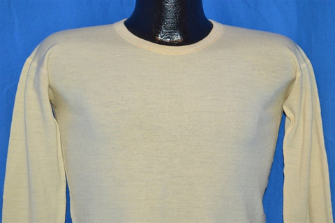 40s Shepherd Pure Wool WW2 Undershirt Small