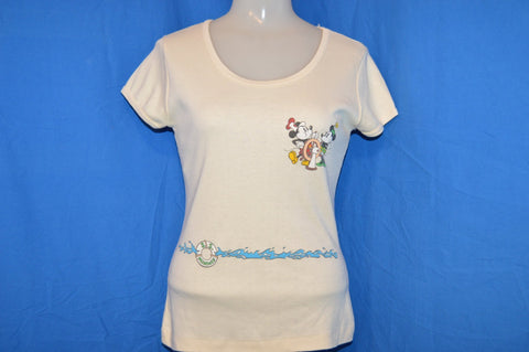 80s Steamboat Willie Mickey Minnie Mouse t-shirt Women's Medium