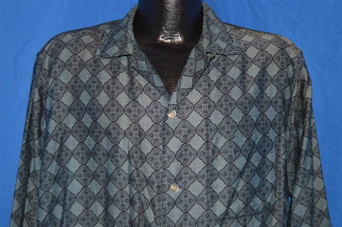 50s Fedcal California Rockabily Button Down Shirt Extra Large