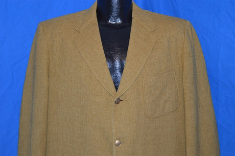60s McGregor Gold Three Button Sport Coat Jacket Extra Large
