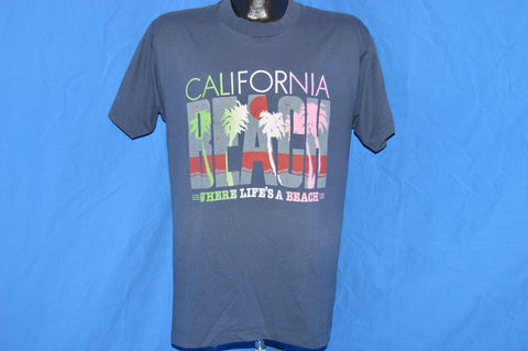 90s California Where Life's a Beach Sunset t-shirt Large