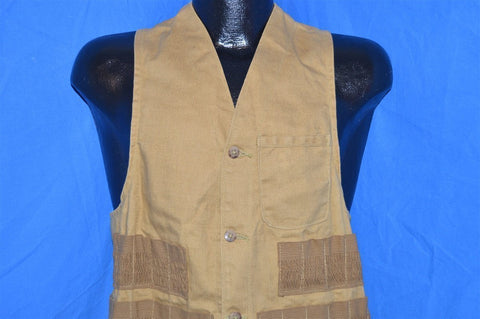 50s American Field Brown Duck Hunting Vest Small