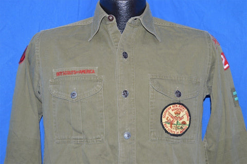 40s Boy Scouts Of America Uniform Shirt Small