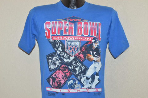90s New York Giants Superbowl XXV t-shirt Small