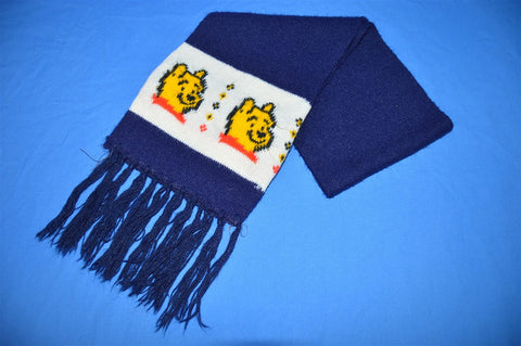 80s Winnie The Pooh Winter Scarf Youth