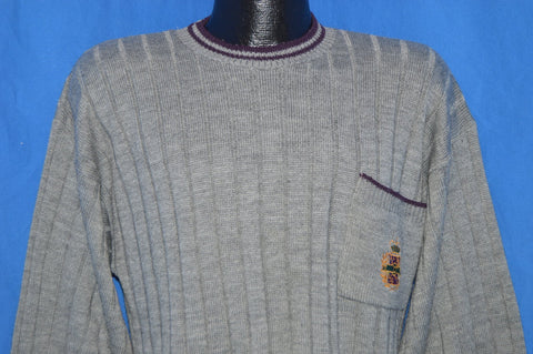 80s Le Tigre Pocket Pullover Sweater Large