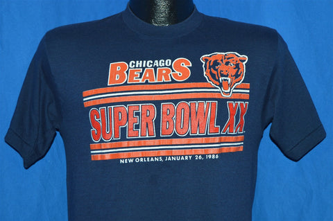80s Chicago Bears Super Bowl XX t-shirt Small