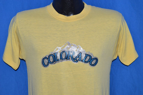 80s Colorado Glitter Iron On t-shirt Small