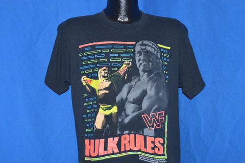 90s Hulk Hogan Rules WWF t-shirt Large