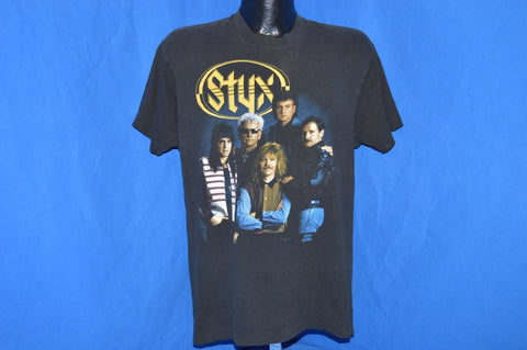 90s Styx Edge of the Century Tour 1991 t-shirt Large