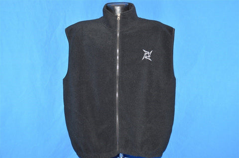 90s Metallica Embroidered Fleece Vest Extra Large