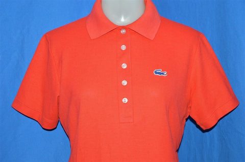 70s Haymaker Lacoste Red Polo Shirt Women's Medium
