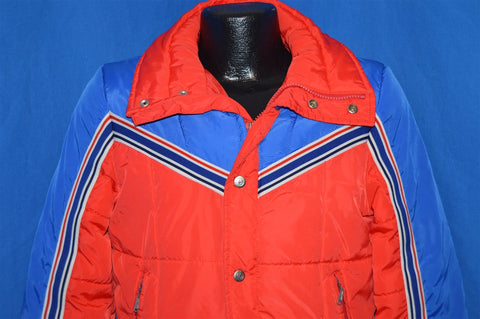 70s Obermeyer Red And Blue Ski Jacket Youth Large